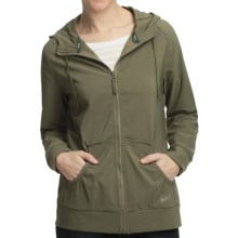Woolrich Karina Rain Jacket - UPF 40+, Soft Shell (For Women) in Light Olive - Closeouts