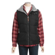 Woolrich Kendale Down Vest - 550 Fill Power, Broken Ripstop (For Women) in Black - Closeouts