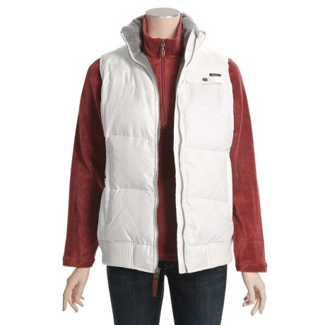 Woolrich Kendale Down Vest - 550 Fill Power, Broken Ripstop (For Women)