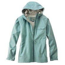 Woolrich Kenzie Solid Rain Jacket - Waterproof, UPF 40 (For Women) in Dark Breeze - Closeouts
