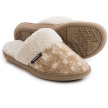 Woolrich Kettle Creek Slippers (For Women) in Chinchilla - Closeouts
