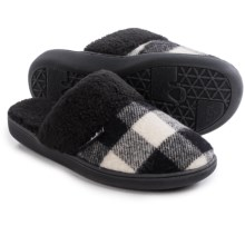 Woolrich Kettle Creek Slippers (For Women) in White/Black Buffalo - Closeouts