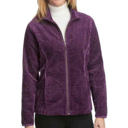 Woolrich Kinsdale Corduroy Jacket - 3-Wale, Cotton (For Women) in Eggplant - Closeouts