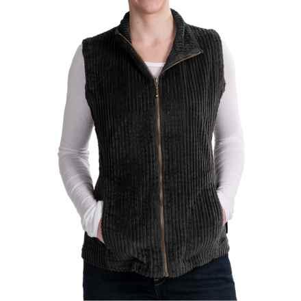 Woolrich Kinsdale Vest - Corduroy (For Women) in Black - Closeouts