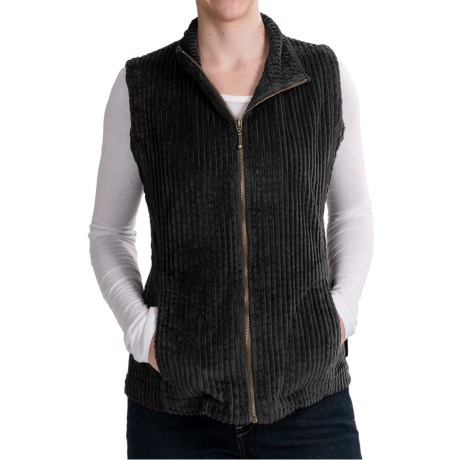 Woolrich Kinsdale Vest - Corduroy (For Women) in Black