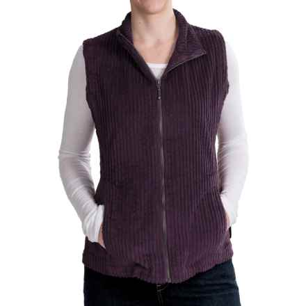 Woolrich Kinsdale Vest - Corduroy (For Women) in Burgandy - Closeouts