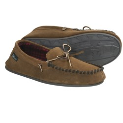 Woolrich Kirkwood Slippers - Suede, Fleece Lining (For Men) in Wood