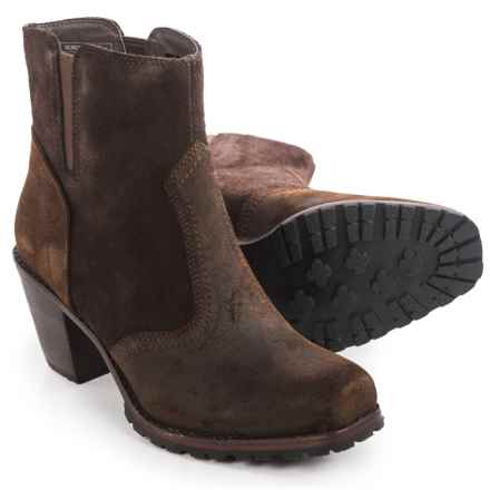 Woolrich Kiva Western Ankle Boots - Leather (For Women) in Java - Closeouts