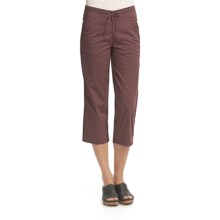 Woolrich Kordell Capris - UPF 40+, Stretch Cotton (For Women) in Raison - Closeouts