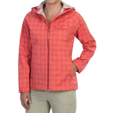 Woolrich Kristie Plaid Rain Jacket - Waterproof, UPF 40+ (For Women) in Calypso - Closeouts