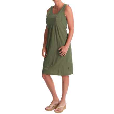 Woolrich Lake Forks Dress - Sleeveless (For Women) in Eucalyptus - Closeouts