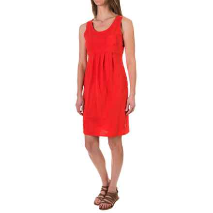 Woolrich Lake Forks Dress - Sleeveless (For Women) in Kayak Red - Closeouts