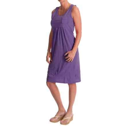 Woolrich Lake Forks Dress - Sleeveless (For Women) in Wild Grape - Closeouts