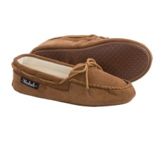 Woolrich Lakeside Moccasin Slippers (For Women) in Chestnut - Closeouts