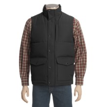 Woolrich Langhorne Down Vest - 550 Fill Power (For Men) in Black - Closeouts