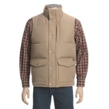 Woolrich Langhorne Down Vest - 550 Fill Power (For Men) in Khaki - Closeouts