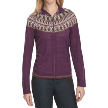 Woolrich Laurel Cardigan Sweater - Merino Wool, Lightweight (For Women) in Blackberry - Closeouts