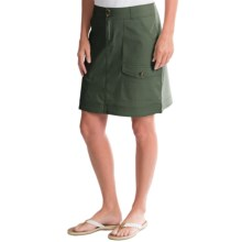 Woolrich Laurel Run II Cargo Skirt (For Women) in Olive Drab - Closeouts