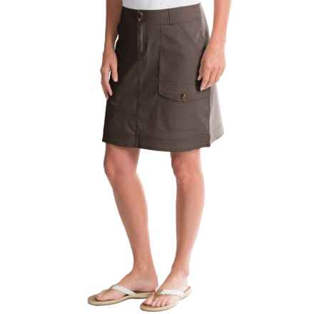 Woolrich Laurel Run II Cargo Skirt (For Women) in Slate - Closeouts
