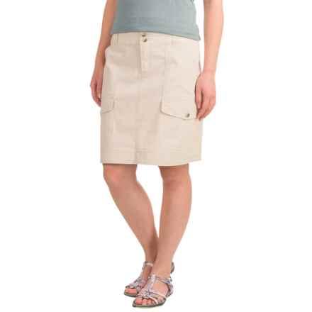 Woolrich Laurel Run II Cargo Skirt (For Women) in Stone - Closeouts