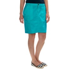 Woolrich Laurel Run II Skirt (For Women) in Peacock Blue - Closeouts