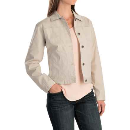 Woolrich Laurel Run Jacket (For Women) in Stone - Closeouts