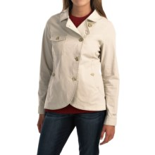 Woolrich Laurel Run Shirt Jacket (For Women) in Stone - Closeouts