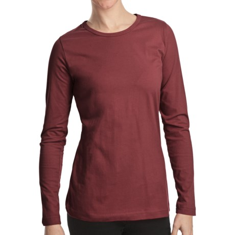 Woolrich Laureldale Stretch Jersey T-Shirt - Long Sleeve (For Women)