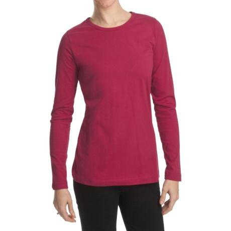 Woolrich Laureldale Stretch Jersey T-Shirt - Long Sleeve (For Women)