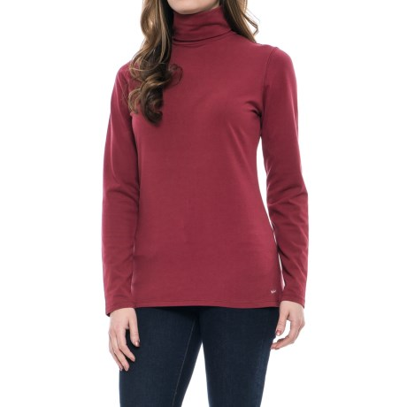 b5b35b90ce0 Woolrich Laureldale Turtleneck - Long Sleeve (For Women) in Cordovan. Tap to  expand