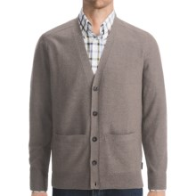 Woolrich Leeward Cardigan Sweater - Merino Wool (For Men) in Dark Shale - Closeouts