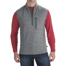 Woolrich Lhar Vest - Merino Wool (For Men) in Graphite - Closeouts