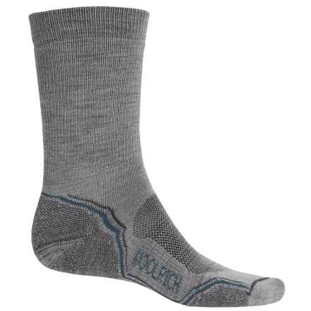 Woolrich Light Hiker Socks - Merino Wool, Crew (For Men) in Drizzle - Closeouts