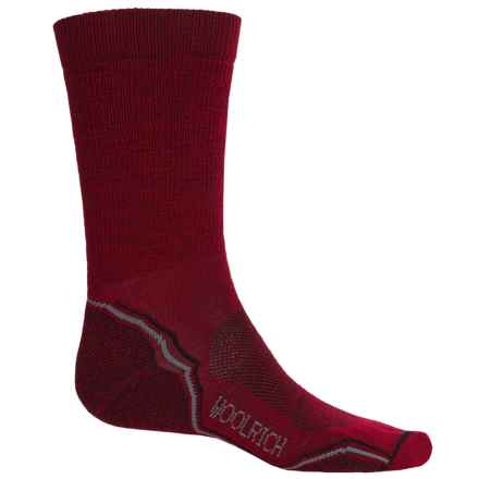 Woolrich Light Hiker Socks - Merino Wool, Crew (For Men) in Mars - Closeouts