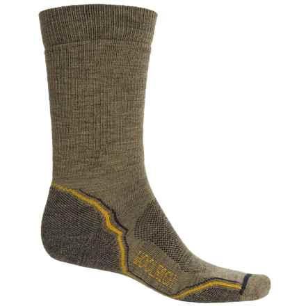 Woolrich Light Hiker Socks - Merino Wool, Crew (For Men) in Sage - Closeouts