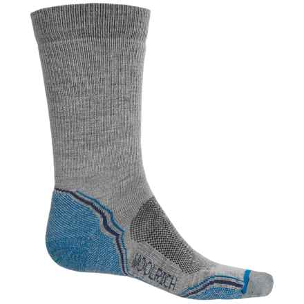Woolrich Light Hiker Socks - Merino Wool, Crew (For Men) in Slate Grey - Closeouts