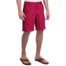 Woolrich Light House II Shorts (For Men) in Red Currant - Closeouts