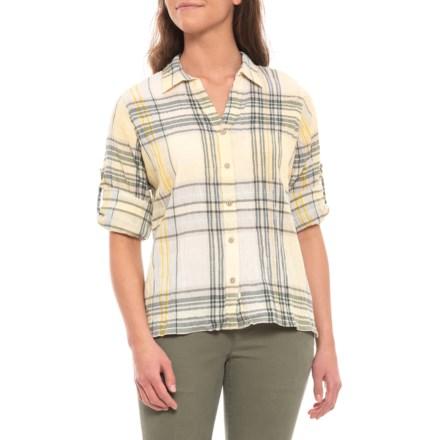 9cc304c5e14 Woolrich Light Sun Carabelle Eco Rich Convertible Shirt - Organic Cotton