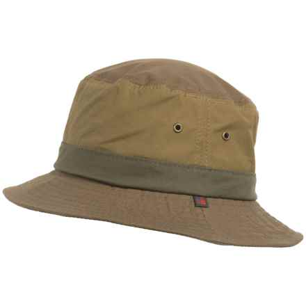 Woolrich Lightweight Waxed-Cotton Bucket Hat (For Men) in Olive - Closeouts