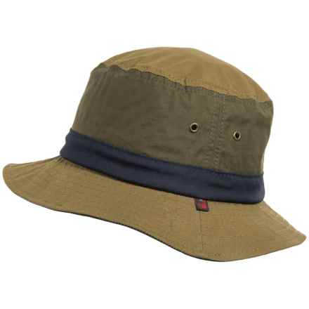Woolrich Lightweight Waxed-Cotton Bucket Hat (For Men) in Tan - Closeouts