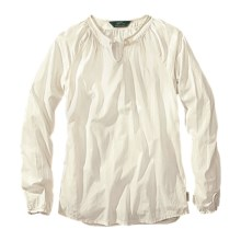 Woolrich Linwood Cotton Dobby Shirt - Long Sleeve (For Women) in Ecru - Closeouts