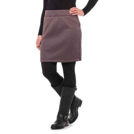 Woolrich Lochlyn Fleece Skirt (For Women) in Wine - Closeouts