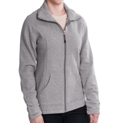 Woolrich Loyalsock Jacket - Brushed Fleece (For Women) in Grey Heather