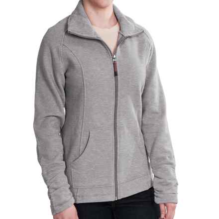 Woolrich Loyalsock Jacket - Brushed Fleece (For Women) in Grey Heather - Closeouts