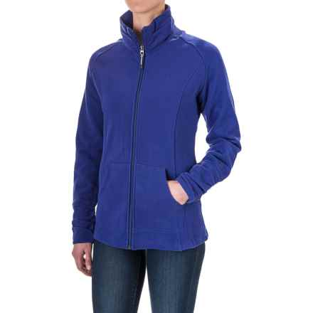 Woolrich Loyalsock Jacket - Brushed Fleece (For Women) in Royal - Closeouts
