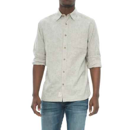 Woolrich Mainroad Eco Rich Shirt - Organic Cotton, UPF 20, Long Sleeve (For Men) in Wool Cream - Closeouts