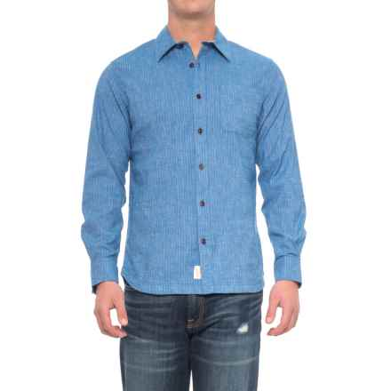 Woolrich Mainroad Shirt - UPF 20, Organic Cotton, Long Sleeve (For Men) in Summer Sky - Closeouts