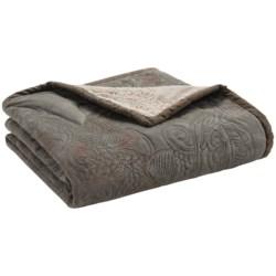 "Woolrich Meadow Creek Throw Blanket - 50x68"" in Evergreen Pine Cone"