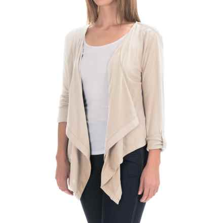 Woolrich Meadowlark Layering Cardigan (For Women) in Ecru - Closeouts
