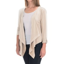 Woolrich Meadowlark Layering Cardigan Shirt - Long Sleeve (For Women) in Ecru - Closeouts